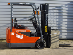 Toyota 5FBE18 Electric Forklift E36963