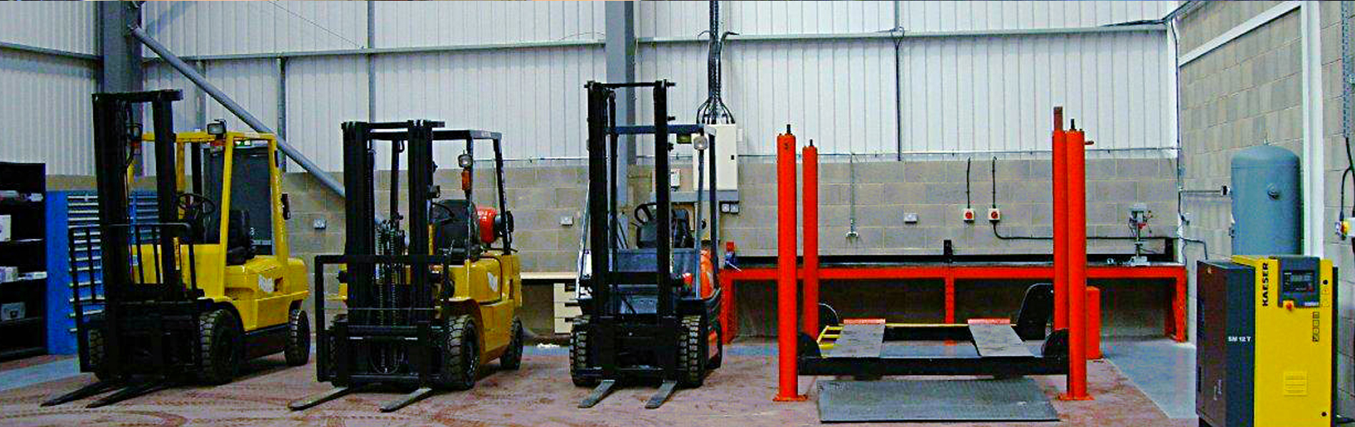 fork lift truck servicing and repairs
