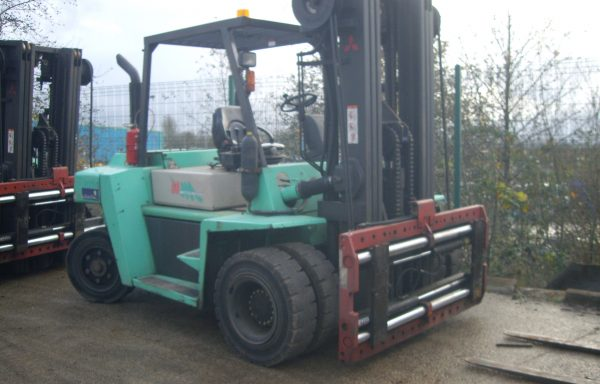 2012 Mitsubishi FD60  6000kgs capacity diesel forklift truck